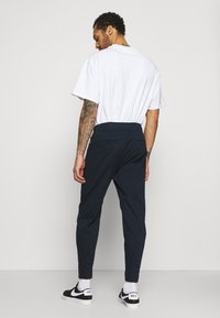 Hollister Co. - TAPER - Trousers - navy - 2