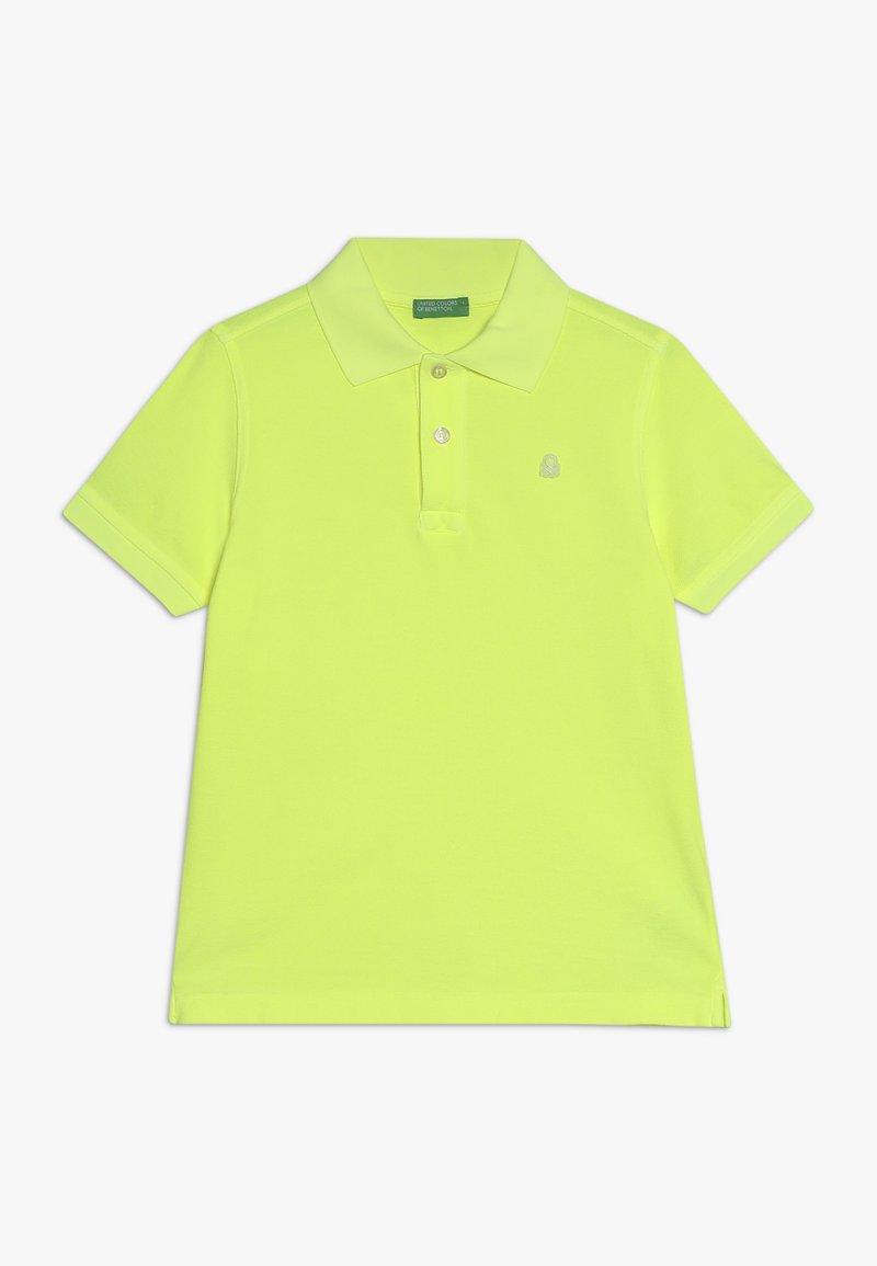 Benetton - Polo shirt - neon yellow