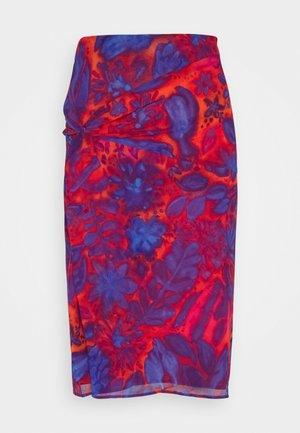 MITZAH - Pencil skirt - red