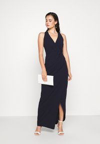 WAL G. - HALTER NECK DRESS - Suknia balowa - navy blue - 1
