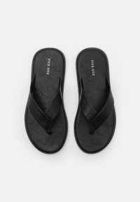 Pier One - T-bar sandals - black - 3
