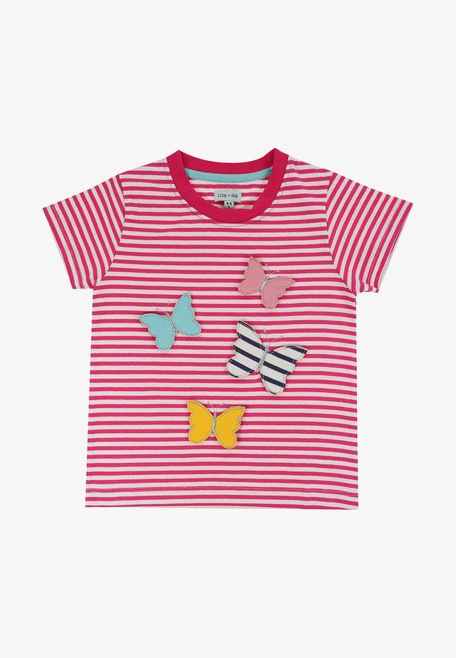 BUTTERFLY - Print T-shirt - pink