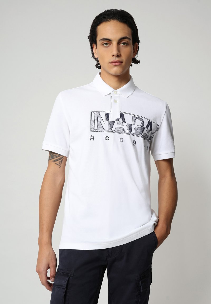 Napapijri - EALLAR - Polo shirt - bright white