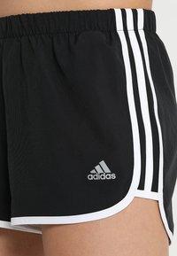 adidas Performance - SHORT - Sports shorts - black/white - 4