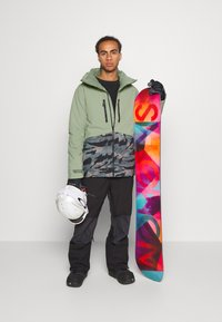 O'Neill - TEXTURE JACKET - Snowboard jacket - light green - 1