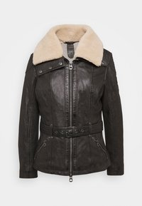 Gipsy - CYLIA LAMAS - Leather jacket - antra - 5