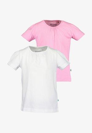 T-shirt basic - weiss azalea