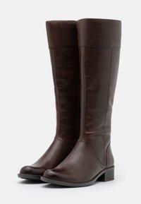 Caprice - BOOTS - Kozaki - dark brown - 2