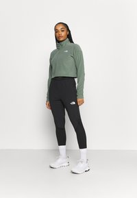 The North Face - GLACIER CROPPED ZIP - Fleece jumper - agave green - 1