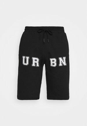 PRINT UNISEX - Short - black