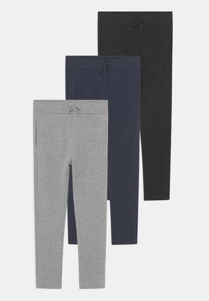 NKMVASIMO 3 PACK - Spodnie treningowe - grey melange
