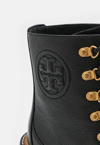 Tory Burch - MILLER BOOTIE - Lace-up ankle boots - perfect black - 6