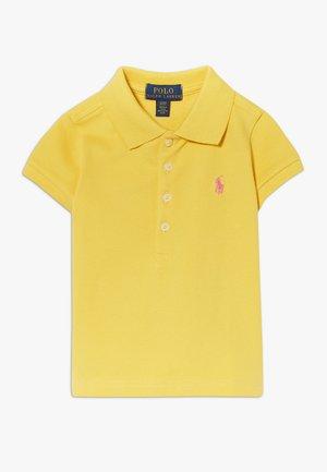 Poloshirt - signal yellow/baja pink