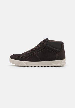 BYWAY - Sneakersy wysokie - mocha/licorice
