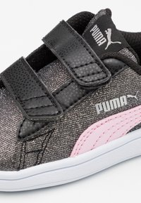 Puma - SMASH GLITZ GLAM - Tenisky - black/pink lady - 5