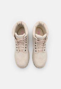 Fila - MAVERICK - Lace-up ankle boots - oyster grey - 5