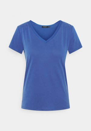 COLUMBINE V-NECK - T-shirt basic - dazzling blue