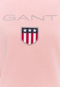 GANT - SHIELD HOODIE - Sweater - quartz pink - 2