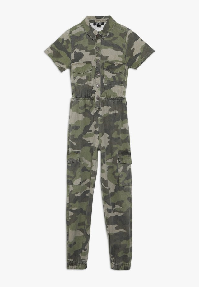 CAMO CARGO  - Jumpsuit - green