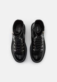 Glamorous Wide Fit - Snørestøvletter - black - 5