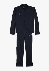 Nike Performance - DRY ACADEMY SET - Tracksuit - obsidian/white/white - 0