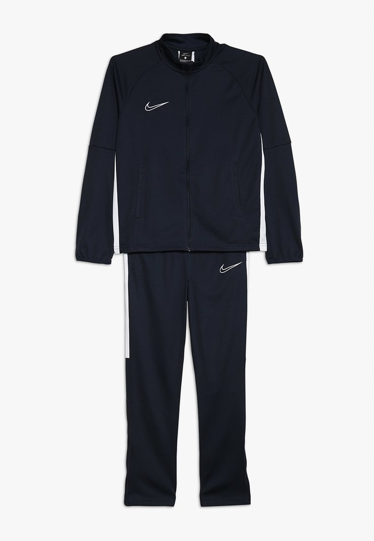 Nike Performance - DRY ACADEMY SET - Tracksuit - obsidian/white/white