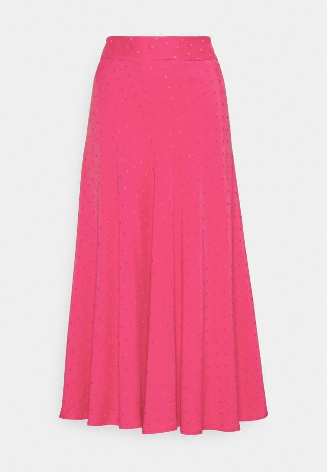 DRAPY STELLY LONG - Maxi sukně - shocking pink