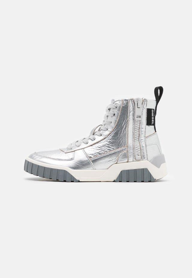 LE RUA S-RUA MC W SNEAKERS - Sneakers alte - silver metallic