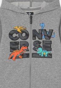 Converse - DINO FULL ZIP SET UNISEX - Tuta - black - 3