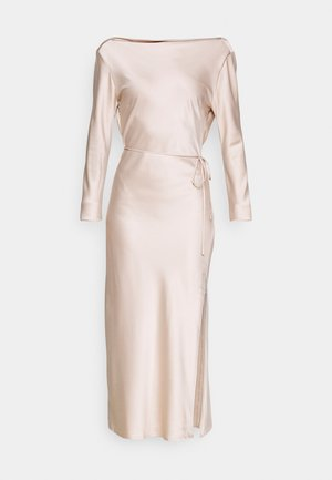 STUDIO COWL MIDAXI DRESS - Vestito elegante - champagne