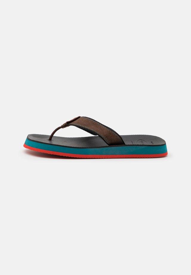 URBAN FUSION - Sandaler m/ tåsplit - black