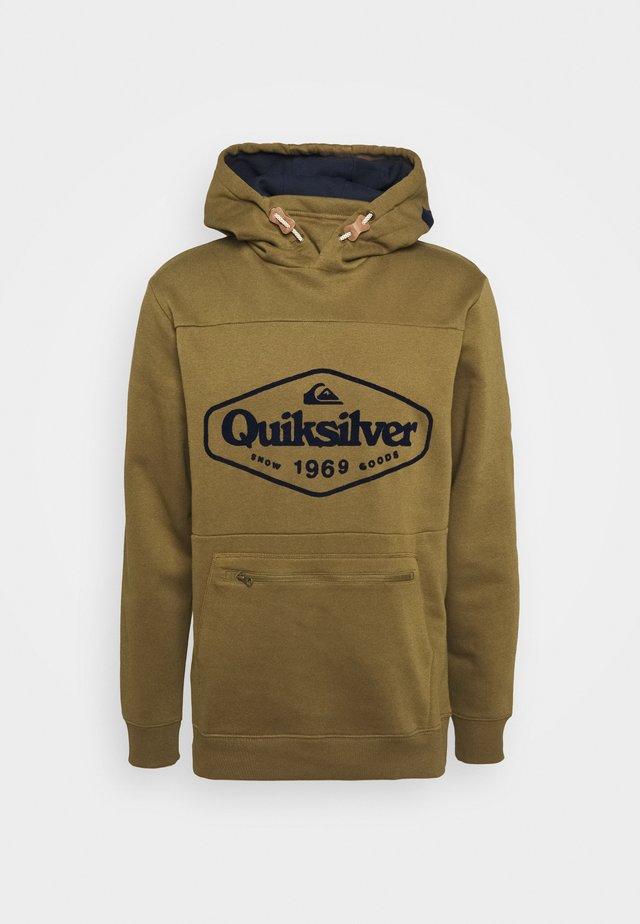 BIG LOGO TECH - Sweatshirt - military olive