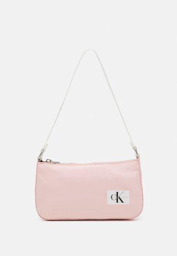 LOGO STRAP SHOULDER BAG - Handbag - pink