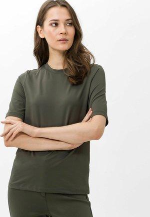 Basic T-shirt - dark olive