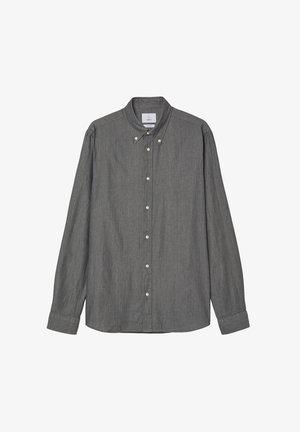 MILTON TWILL - Shirt - grey melange
