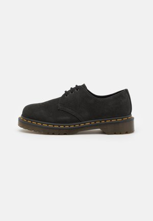 1461 3 EYE SHOE UNISEX - Nauhakengät - black milled