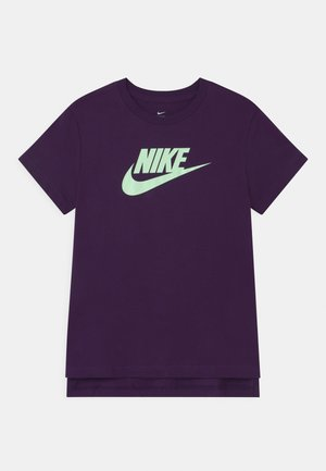 BASIC FUTURA - Print T-shirt - grand purple