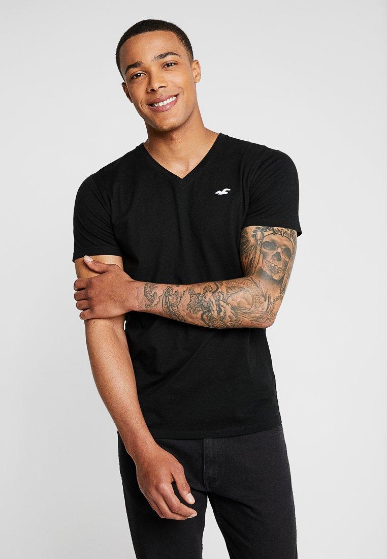 Hollister Co. - ICON VARIETY - Print T-shirt - black