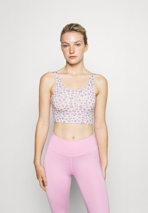 BUSTIER LEOHEARTS - Light support sports bra - lilac
