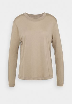 EASE CREW NECK - Long sleeved top - comfort grey