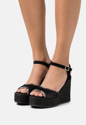 Platform sandals - nero