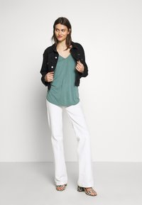 Betty & Co - Long sleeved top - sagebrush green - 1