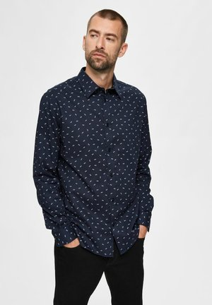 SLIM FIT - Formal shirt - dark sapphire