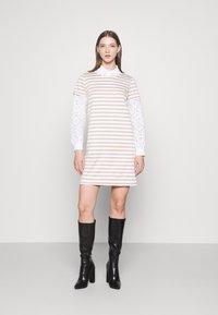 Vila - VITINNY - Jersey dress - snow white - 1