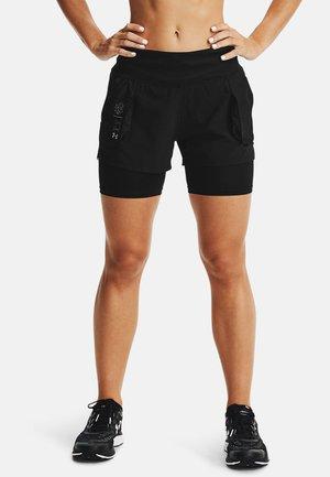 RUN ANYWHERE 2N1 - Sports shorts - black