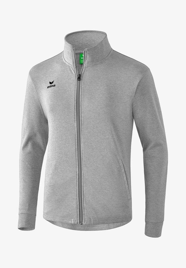 Training jacket - hellgrau melange