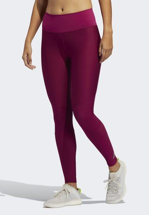 BELIEVE THIS 2.0 AEROREADY LONG LEGGINGS - Tights - purple