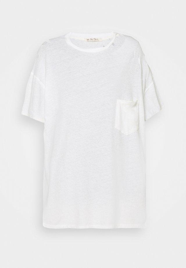RUBI TEE - T-shirt basic - optic white