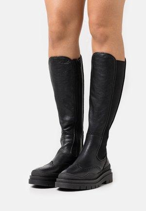 CPH737  - Platform boots - black