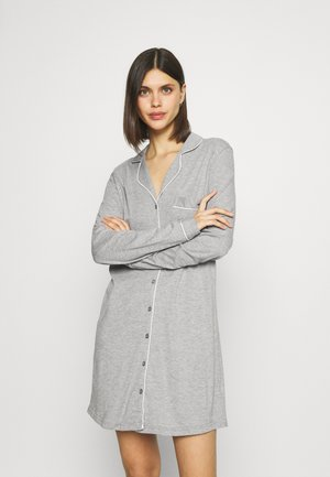NIGHTGOWN - Nightie - grey melange